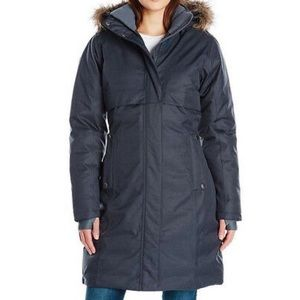 COLUMBIA Apres Arson Long Down Coat Size XS